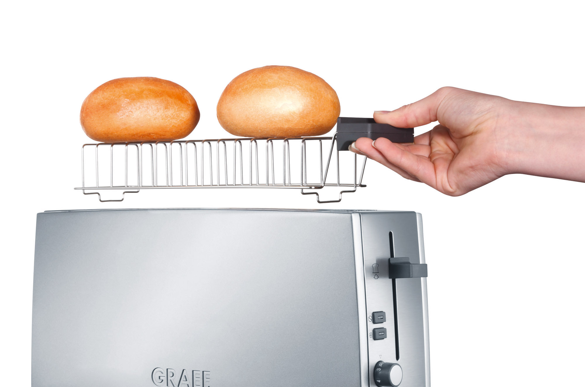 Graef TO90 kenyérpirító zsemletartó