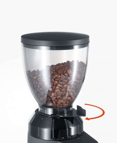 Graef CM802 kávédaráló tartály rögzítése
