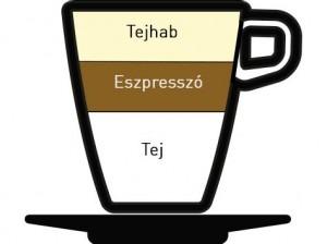 Latte macchiato kávétípus