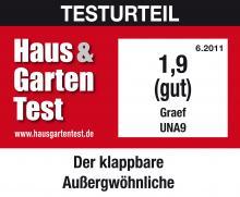 Graef UNA9 mobil szeletelő Haus und Garten Teszt