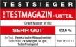 Graef Master M182 szeletelő ETM Teszt győztes